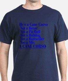He's a Cane Corso explained T-Shirt