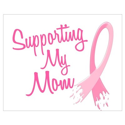 Supporting My.....Breast Cancer Framed Print