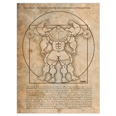 Gleneicki's MUSCLEHEDZ Man Poster