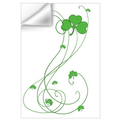 Irish Shamrock Art Wall Decal