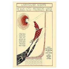 New York Vintage Theatre Poster