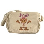 Little Monkey Jodi Messenger Bag