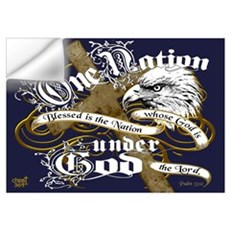 One Nation - Blessed Wall Decal