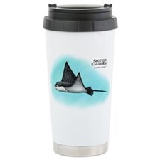 Spotted Eagle Ray Travel Coffee Mug