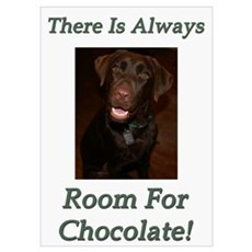 Room For Chocolate Poster