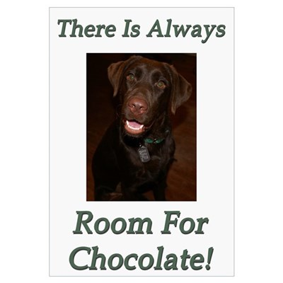 Room For Chocolate Canvas Art