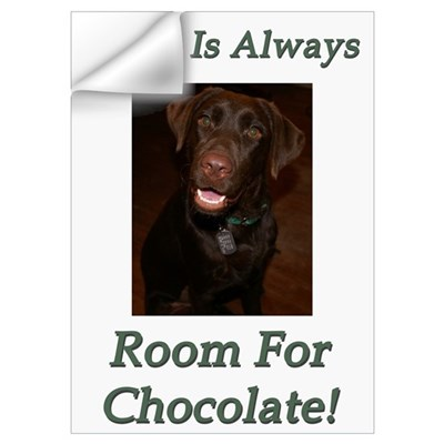 Room For Chocolate Wall Decal