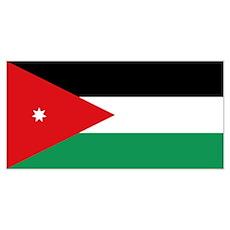 Flag of Jordan Poster