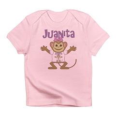 Little Monkey Juanita Infant T-Shirt