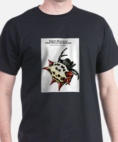 Spiny-Backed Orb Weaver Spider T-Shirt