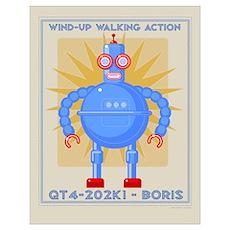 Boris Robot Poster