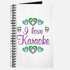 I Love Karaoke Journal