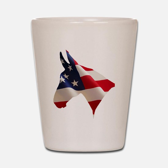 Proud American Shot Glass