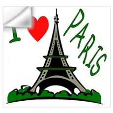 ...I Love Paris... Wall Decal