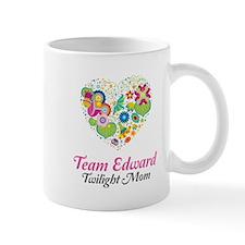 Twilight Mom Floral Heart Mug