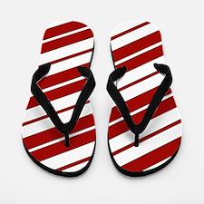 Crimson Pride Flip Flops