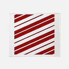 Crimson Pride Throw Blanket