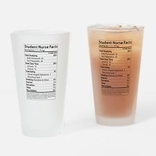 Student Nurse Drinking Glass