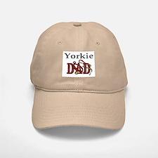Yorkie Dad Baseball Baseball Cap