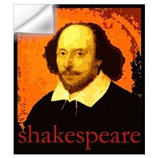Shakespeare Wall Decal