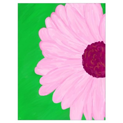 Painted Flower, Art Print Poster
