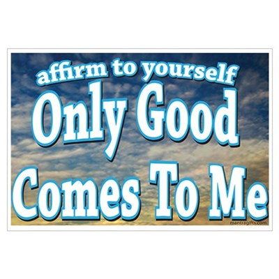 Positive Affirmation Framed Print