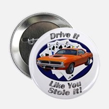 Plymouth Barracuda 2.25 Inch Button (10 pack)