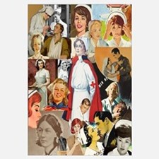 Vintage Nurse Collage 16x20
