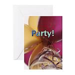 Balloons Party Invitations (Pk of 10)