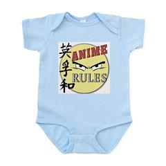 Anime Rules - Design 2 Infant Bodysuit