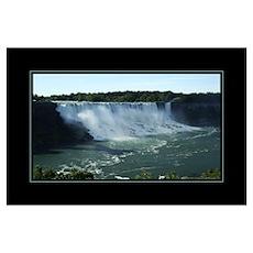 American Falls Morn Poster