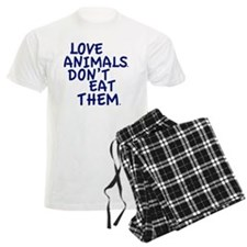 Don't Eat Animals Pajamas