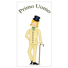 Blond Primo Uomo in Ivory Suit Poster