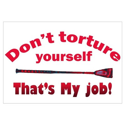 Don't torture youself Poster