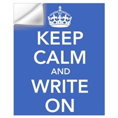 Keep Calm and Write On Wall Decal