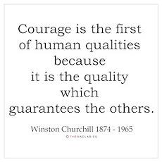 Winston Churchill 3 Poster