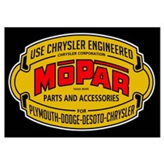Mopar Parts & Accessories Poster