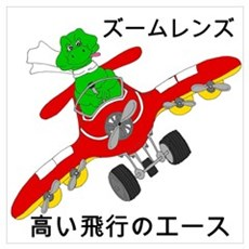 Japanese Flying Ace Poster