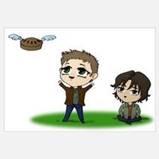 Cute Supernatural dean Wall Art