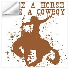 Save a horse, ride a cowboy. Wall Decal