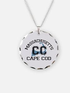 Cape Cod MA - Varsity Design Necklace