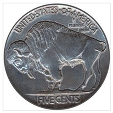 The Buffalo Nickel Poster