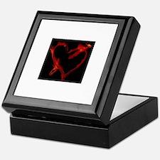 Funny Heart Keepsake Box