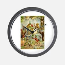 In The Gnomes' Kitchen Wall Clock