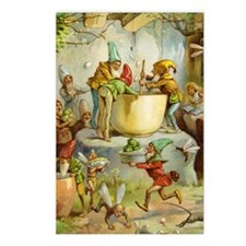 In The Gnomes' Kitchen Postcards (Package of 8)