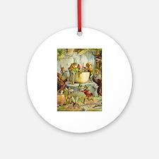 In The Gnomes' Kitchen Ornament (Round)