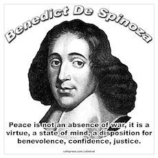 Benedict De Spinoza 01 Poster