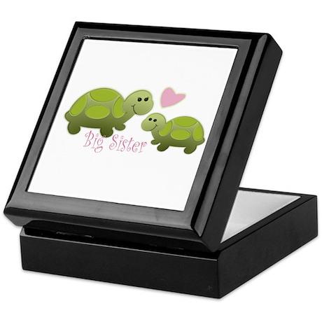 Sister Turtle Keepsake Box