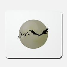 Moon Bats Mousepad