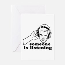 Someone Is Listening Greeting Cards (Pk of 10)